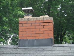 Chimney needing repairs