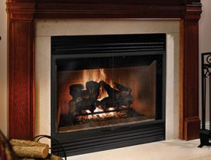 Accelerator Wood Fireplace Image