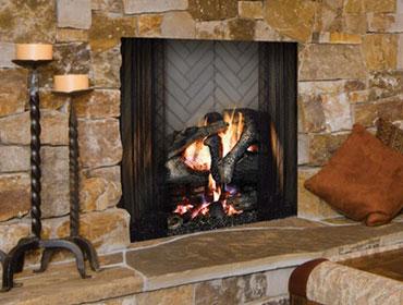 Ashland Wood Burning Fireplace Image