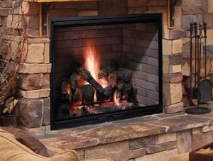 Biltmore Wood Burning Fireplace Image