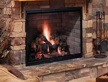 Biltmore Wood Burning Fireplace Image