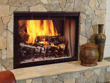 Designer Series Wood Burning Fireplace Image