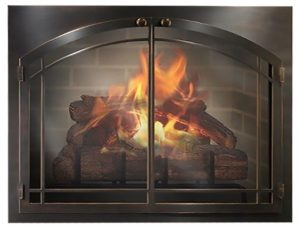 Masonry Fireplace Doors Image