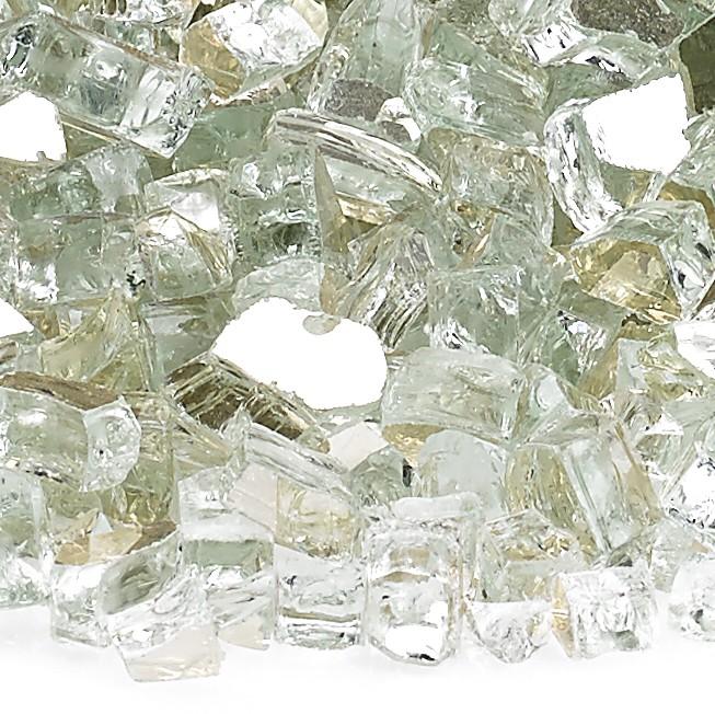 1/4″ Platinum Reflective Fire Glass Image