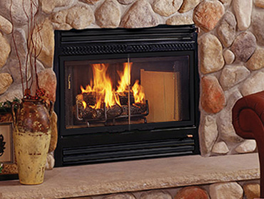 SC60 Wood Fireplace Image