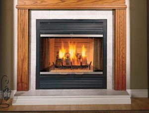 Sovereign Wood Burning Fireplace Image