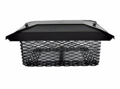 Universal Chimney Cap for the South and Southwest - Black Galvanized Image