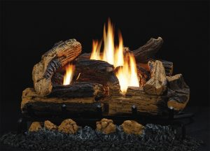 Vent-Free Kennesaw Refractory Log Sets and Vent-Free Burners Image
