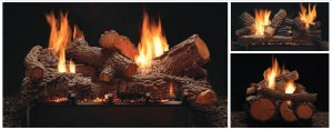 Vent-Free Multi-Sided Slope Glaze Burners and Matching Log Sets Image